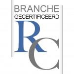 LOGO BRANCHE GECERTIFICEERD